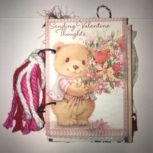 Valentine  Ring BinderJunk Journal