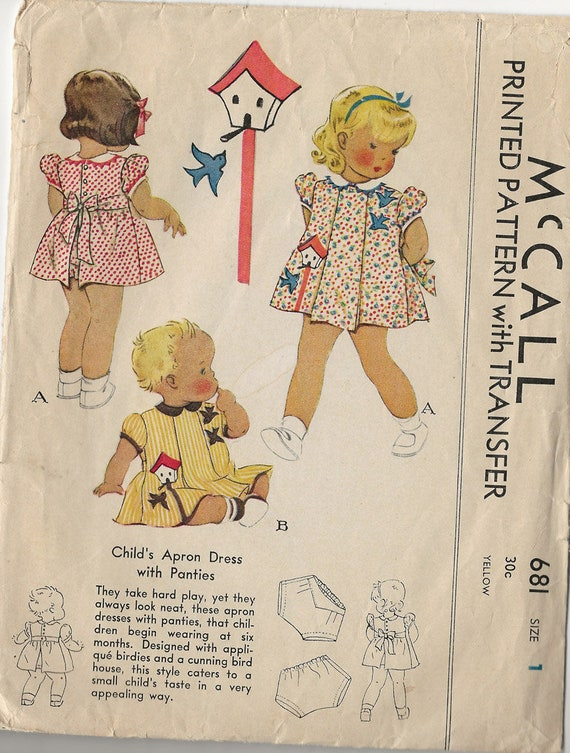 """KIT TO MAKE 4 OUTFITS FOR VINTAGE 15/"""" MAGGIE ALICE HARD PLASTIC DOLL"""