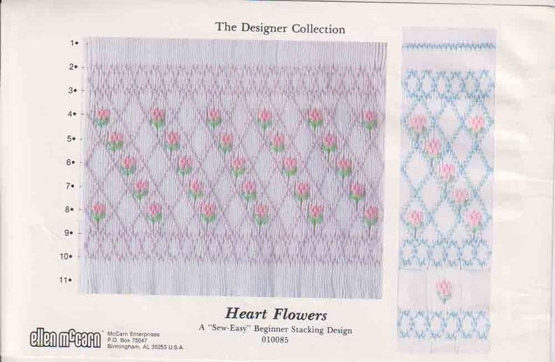 Vintage Ellen McCarn Smocking Plate Pattern Multiple Available Choose One