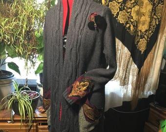 long Gypsy Sweater Jacket