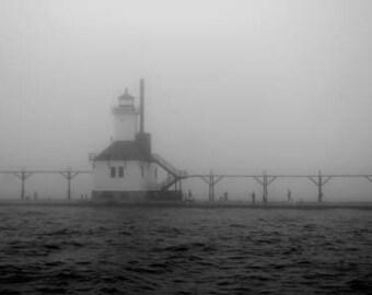 St Joseph North Pier Light - Original Signed Fine Art Photograph
