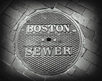 Boston Sewer - Original Signed Fine Art Photography