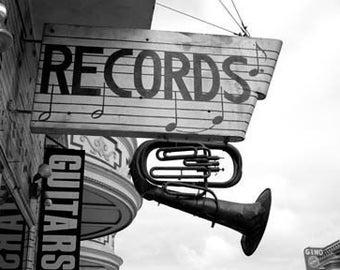 Records - Original Signed Fine Art Photograph