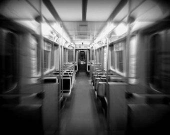 Empty El Chicago - Original Signed Fine Art Photograph