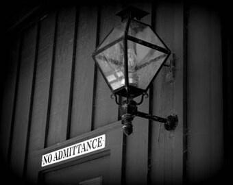 No Admittance - Original Signed Fine Art Photography