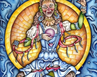 The Conception of Dorothy Gale...(matted)