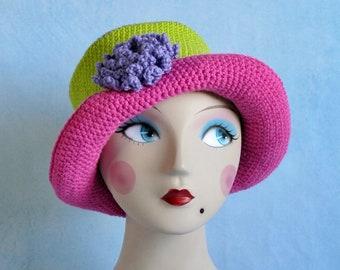 Sunny Days Winter Warmer Crochet Pattern - Crochet Hat Pattern - Beginning Crochet Pattern - PDF Crochet Pattern