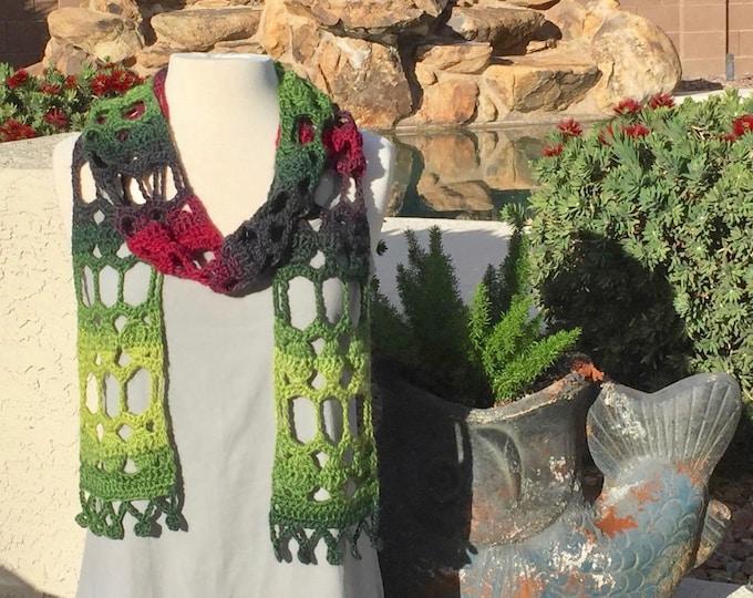 Marrakesh Scarf - PDF Crochet Pattern
