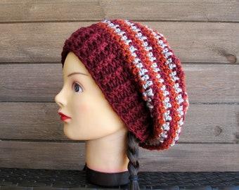 Sunburst Slouchy - PDF Crochet Pattern - Crochet Hat - Sunburst Hat - Star Hat - Flower Hat
