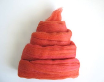 Color Fusion - 19 Micron Merino Top - Melon - 2oz