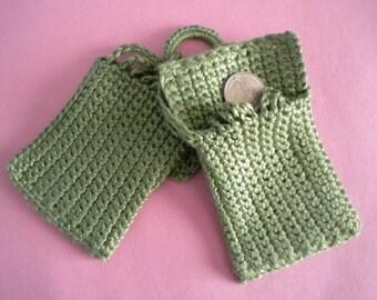 1895 Miser's Purse PDF Crochet Pattern (a vintage reproduction)