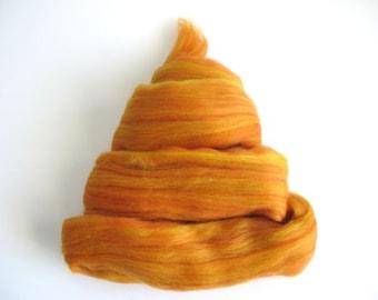 Color Fusion - 19 Micron Merino Top -  Ginger - 2oz - Free Shipping