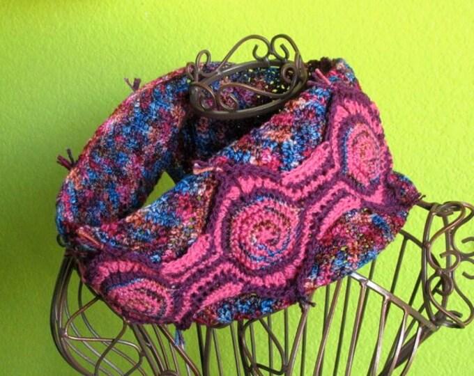 Talkin' Revolution Circular Scarf - PDF Crochet Pattern
