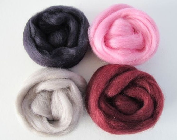 Cool Blush Warm Glow Wool Sampler 2oz - Free Shipping
