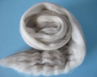 Mixed BFL Wool Top - 8oz - Free Shipping