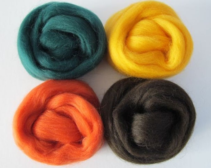 Maple Tree Wool Sampler 2oz - Free Shipping