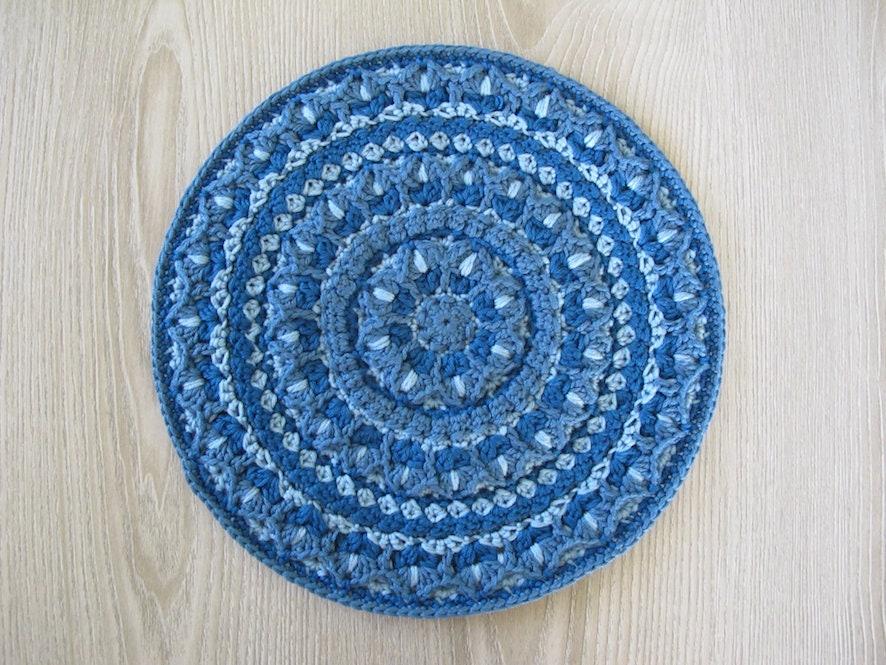 The Tulip Mandala Crochet Pattern Crocheted Mandala Crochet