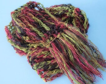 The Longstitch Express - Crochet Scarf Pattern PDF