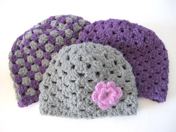 The Thick And Quick Portland Beanie Pdf Crochet Pattern Etsy