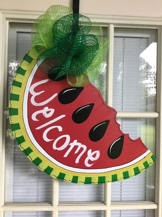 Beau Front Door Decor Summer Decorations Summer Door Hanger | Etsy