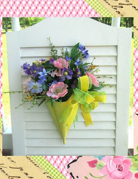 Umbrella Door Hanger Showers Of Flowers Door Decoration Etsy