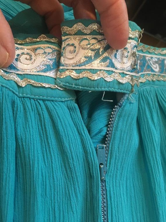 50s Skirt //Size S //Southwestern Skirt//Patio sk… - image 8