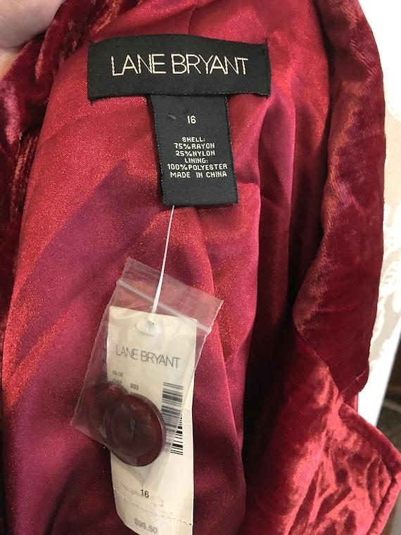 Vintage Velvet Jacket//Size 16//Red Blazer//Velve… - image 6