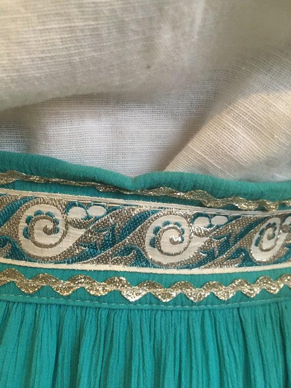 50s Skirt //Size S //Southwestern Skirt//Patio sk… - image 4