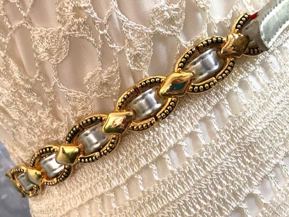 Gold Concho Belt//Silver Leather Belt//80s Belt//S