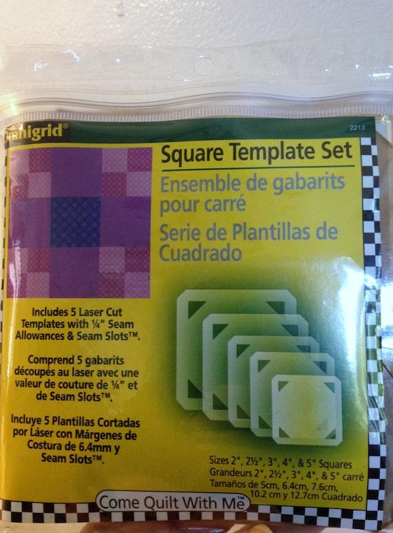 Circle Template Set 5 Pcs Omnigrid Come Quilt With Me