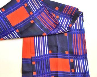 Scandinavian Men's Vintage Silk Mod Opera Scarf Tuxedo Scarf *