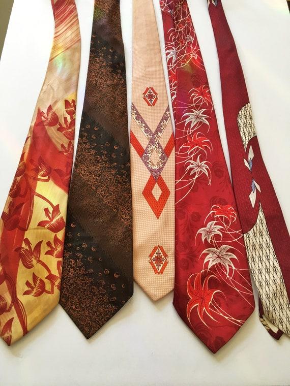 5//40s Necktie //Necktie Lot // Vintage Tie // Fla