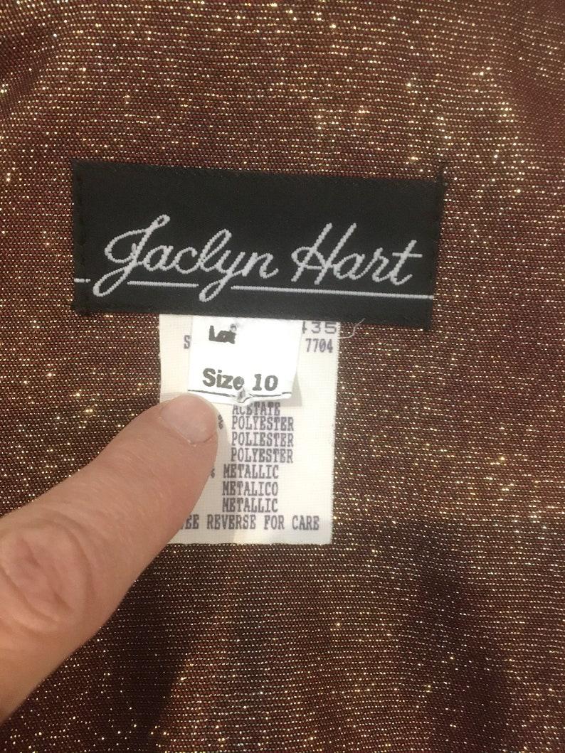 80sGold SuitSize 10Metallic  clothingLurex80s clothingRed and GoldWomen/'s suit