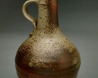 Medieval Stoneware Raeren Bottle w/ Two Handles - Made to Order