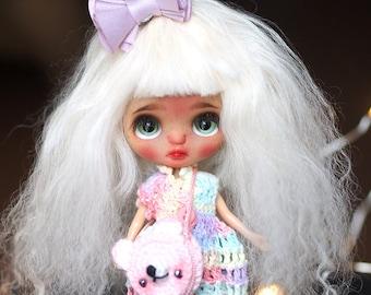 Sarsarblanki Custom Petite Blythe Doll Cinnamon - OOAK handmade custom ブライス PBL プチブライス
