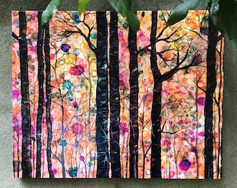 Dream Forest : 16 x 20 Inch Stretched Canvas Wrap Print