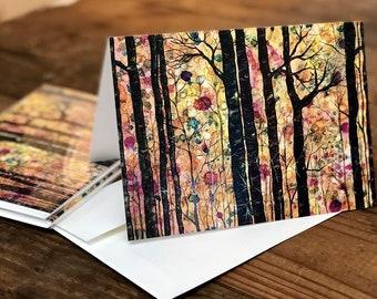 Dream Forest : Fine Art Greeting Card