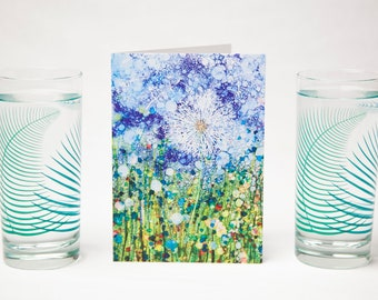 Dandelion and Fern 3 Piece Botanical Gift Set Collection - Mother's Day Gift