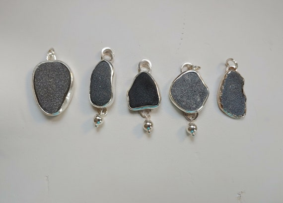 river ROCKS pendant.  All naturally shaped and smoothed by The St. Lawrence River.