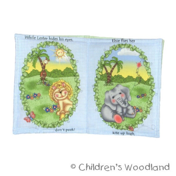 A Bazooples Day Child Soft Cloth Book for Baby Girls Children Boys Kids