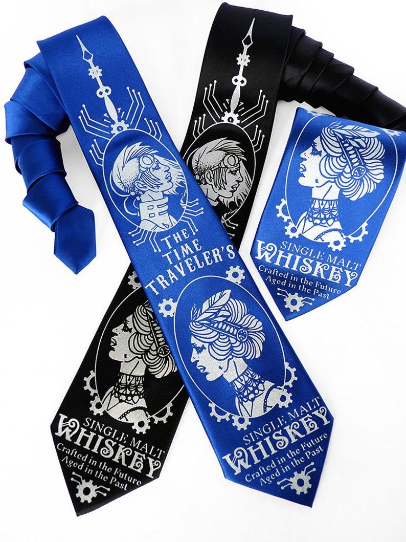 655b7ea21677 Whiskey Gifts for Men Mens Gift Geek Tie Neckties for Men | Etsy