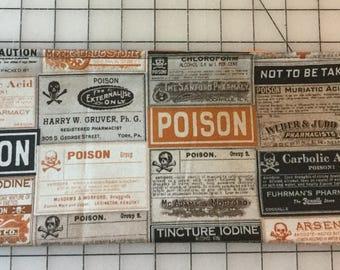 Poison Zipper Pouch