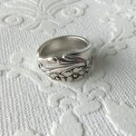 Evening Star Spoon Ring