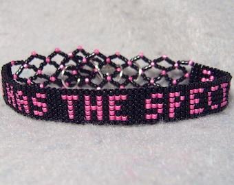 I HAS THE Specials beadwoven bracelet