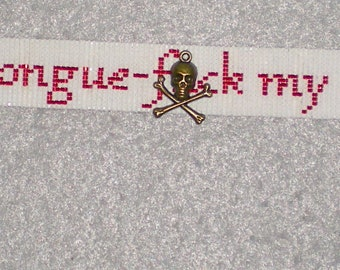Better Than Chikin - choker and wrap bracelet