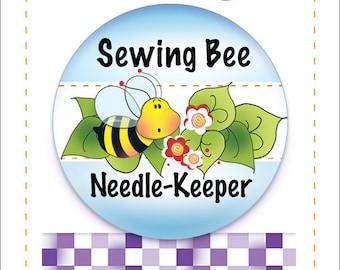 e91b86c2772610 Needle Keeper - Sewing Bee Design -  NK1
