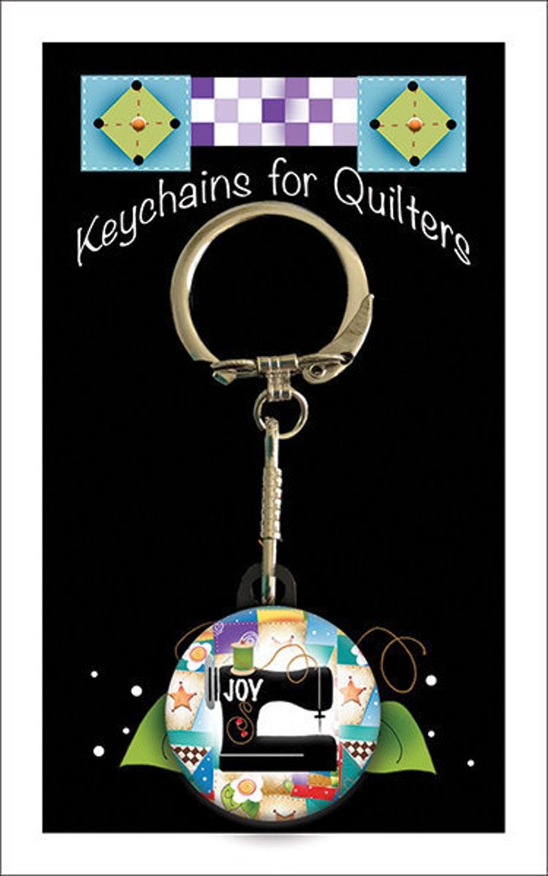 KC2 Keychain with Joy Sewing Machine