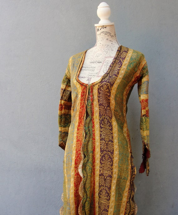 Antique Ottoman Dress Jacket, Folklore Dress, Trad
