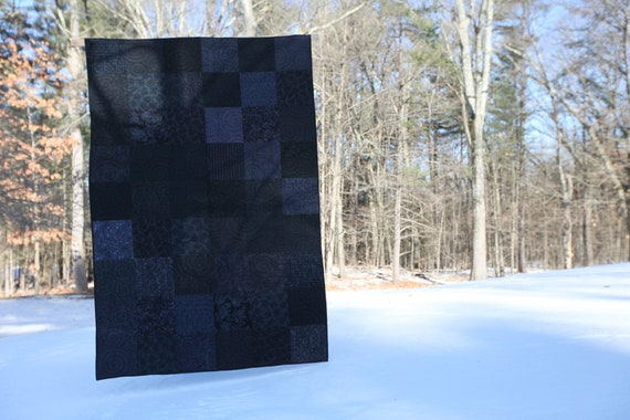 Dark Heart Quilt - Made to order