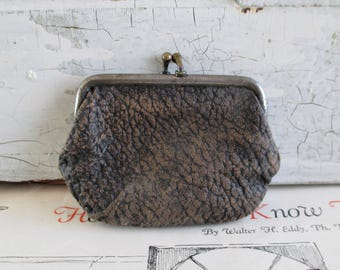 Little Vintage Leather Change Purse